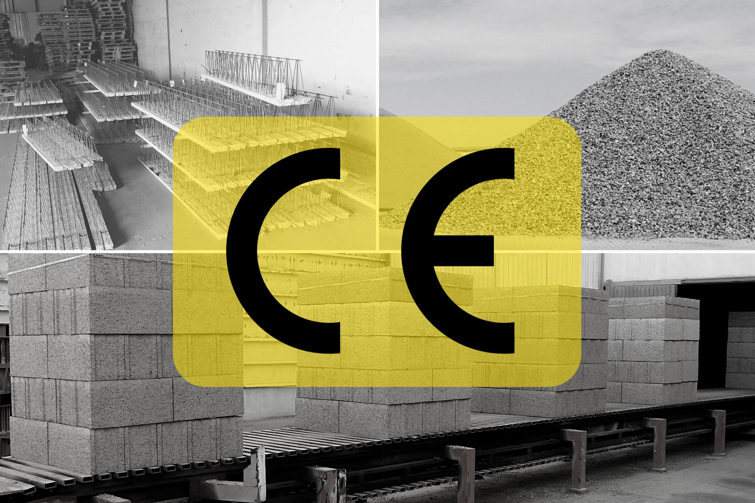 Marcado CE productos de construcción